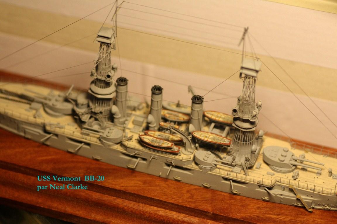 USS Vermont BB-20 (état de 1909) au 1/700e de Niko Models - Page 2 17072412371923134915164933