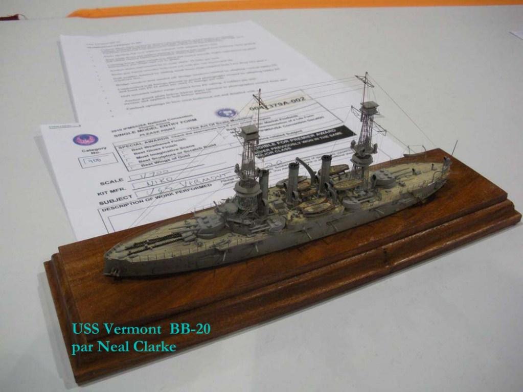 USS Vermont BB-20 (état de 1909) au 1/700e de Niko Models - Page 2 17072412372223134915164935