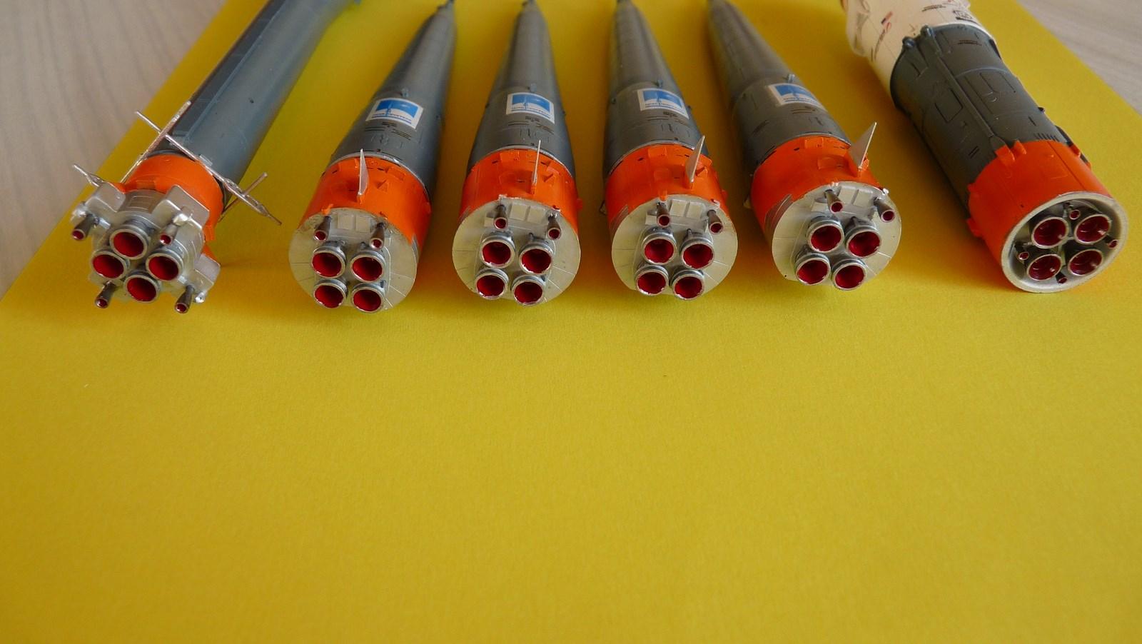 La fusée russe Soyouz TMA-21 sur son pas de tir au 144e  17072611352823134915171419