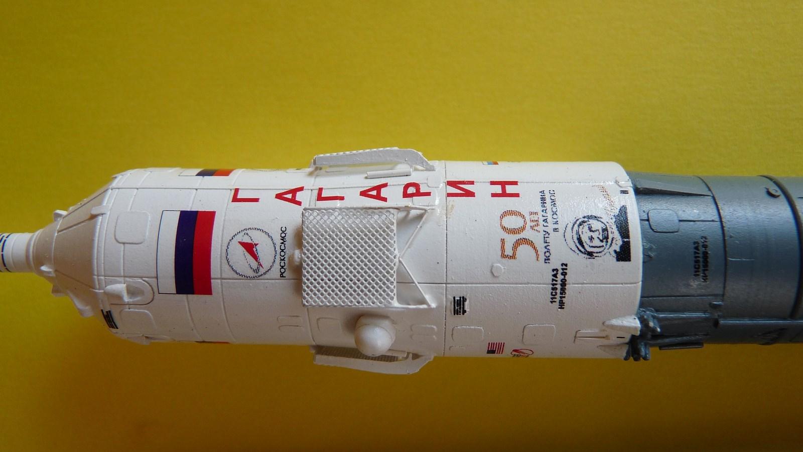La fusée russe Soyouz TMA-21 sur son pas de tir au 144e  17072611354223134915171426