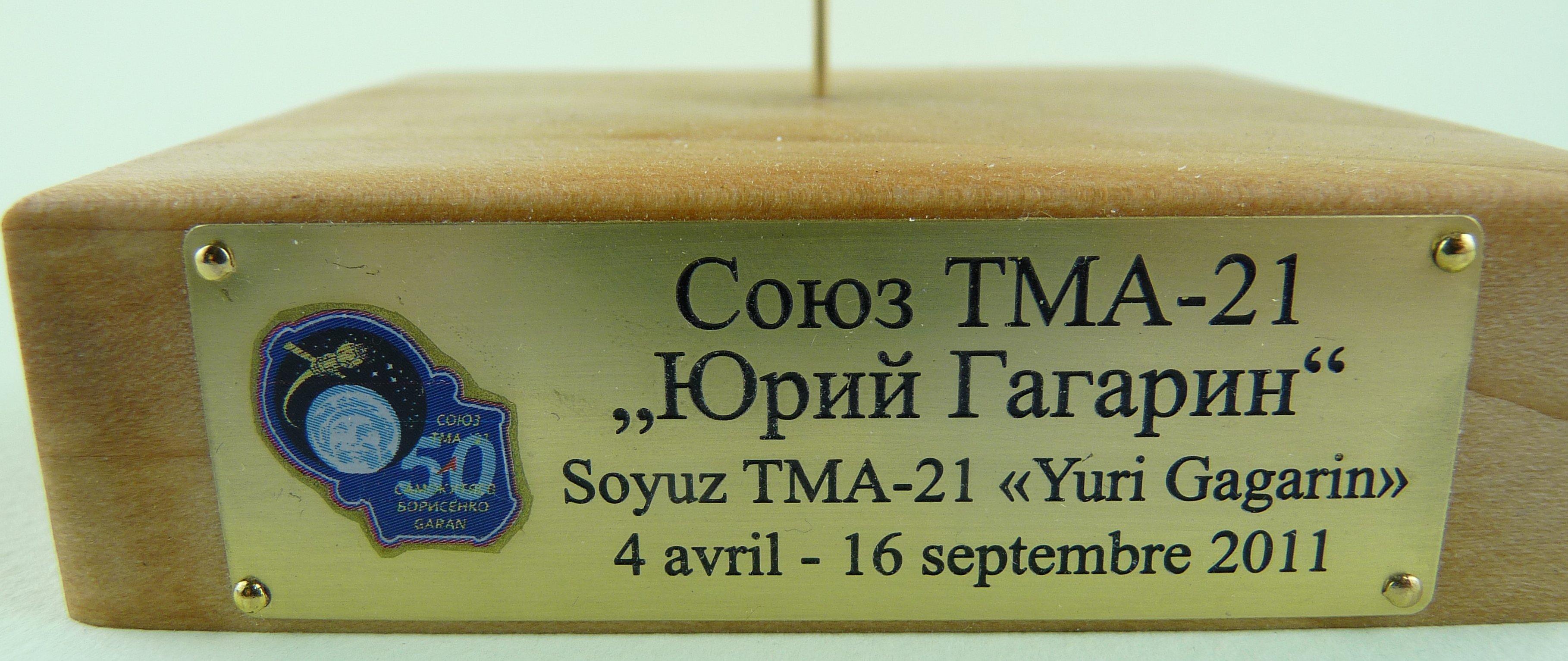 La fusée russe Soyouz TMA-21 sur son pas de tir au 144e  17072611364423134915171437