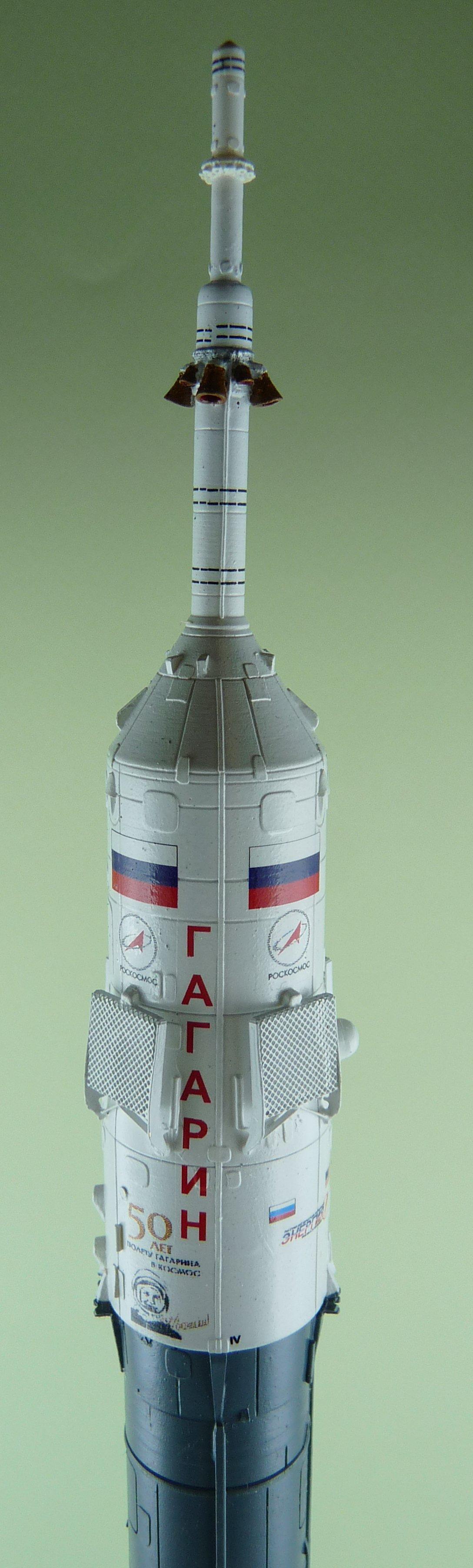 La fusée russe Soyouz TMA-21 sur son pas de tir au 144e  17072611364923134915171438