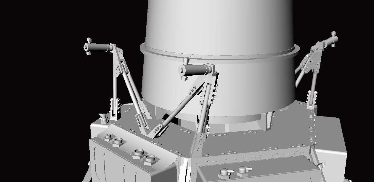 Crash-test planétaire : la sonde lunaire Ranger 8 au 1/24e 17072612432623134915170976