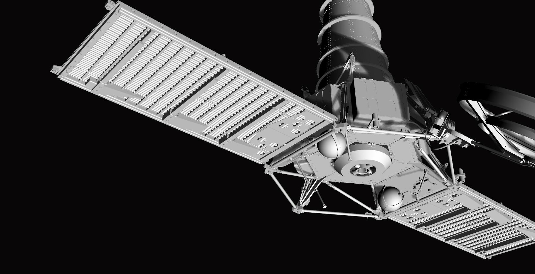 Crash-test planétaire : la sonde lunaire Ranger 8 au 1/24e 17072612434623134915170980