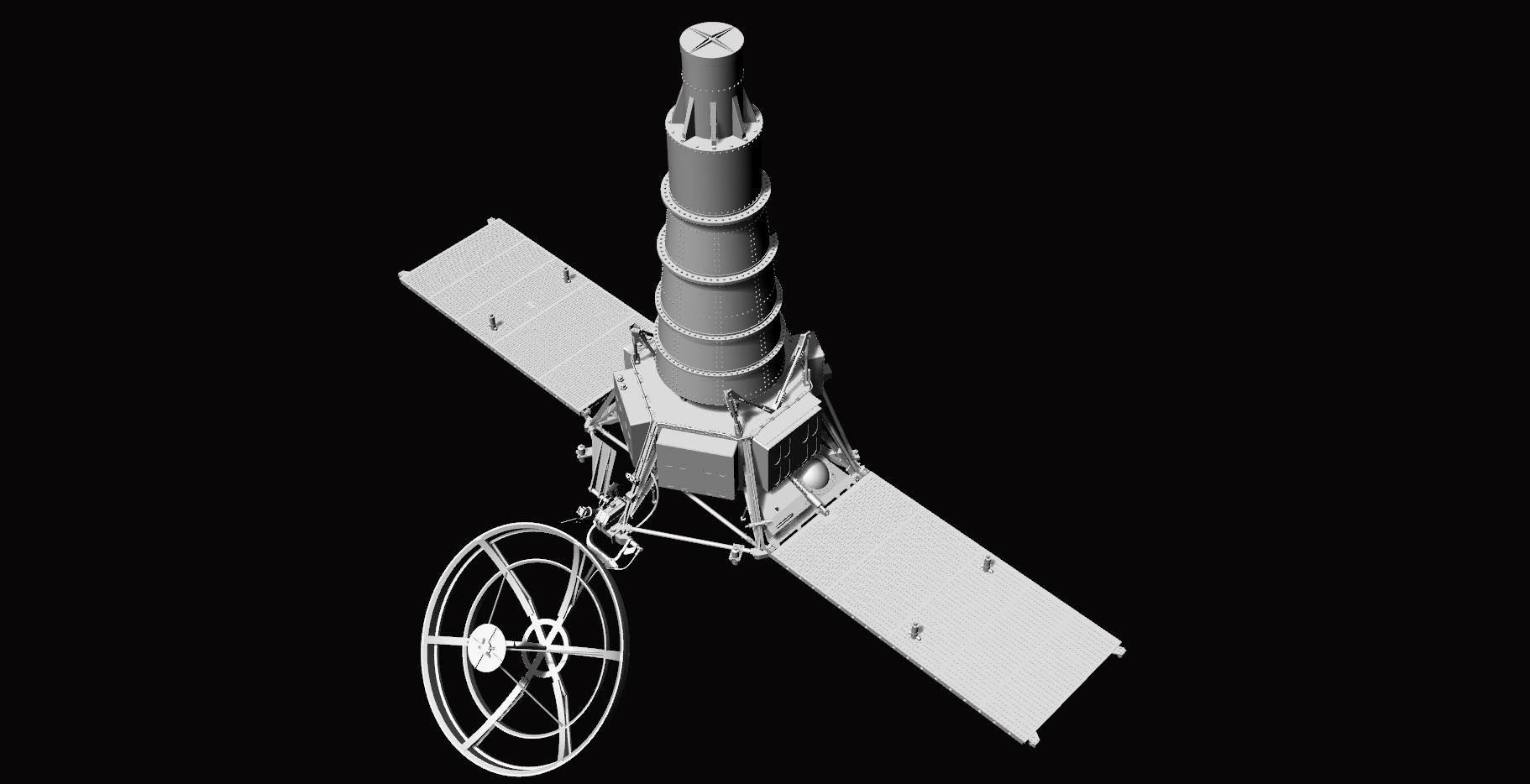 Crash-test planétaire : la sonde lunaire Ranger 8 au 1/24e 17072612435523134915170982