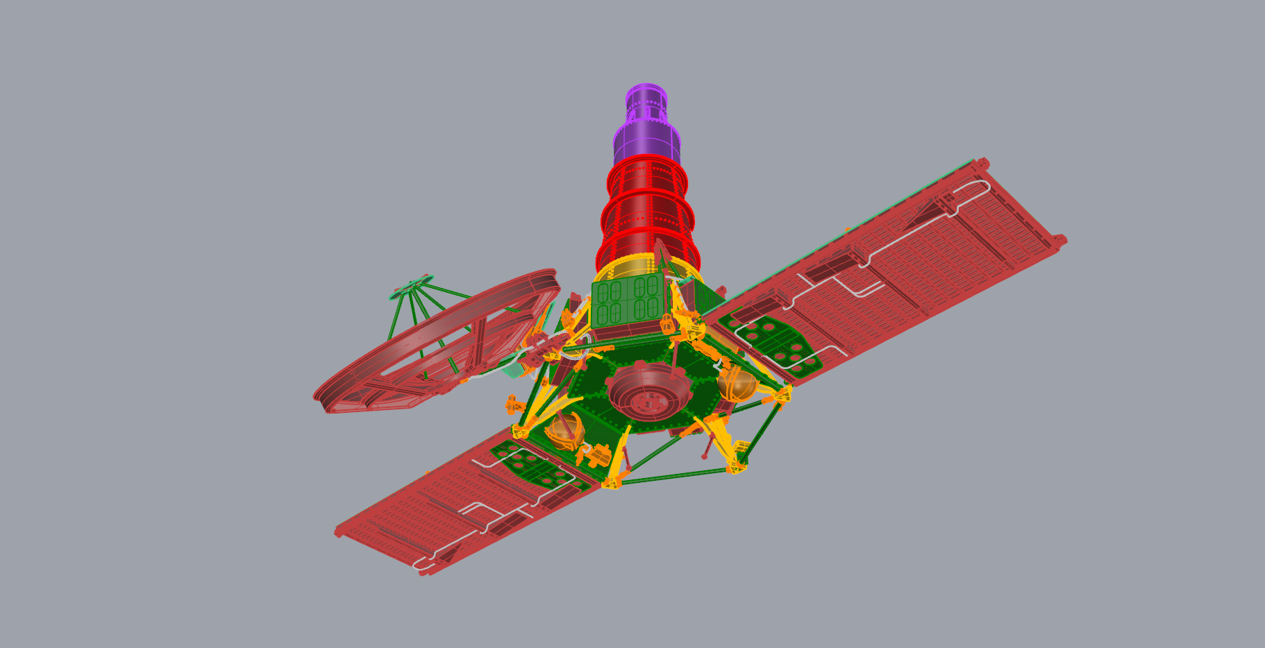 Crash-test planétaire : la sonde lunaire Ranger 8 au 1/24e 17072612440823134915170985