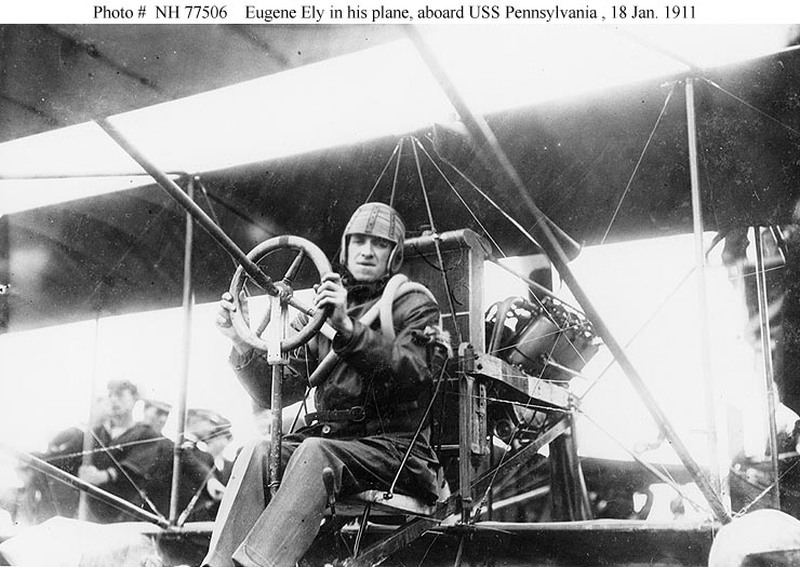 Curtiss Pusher d'Eugene Ely, 1911 au 72e 17072709424723134915175115