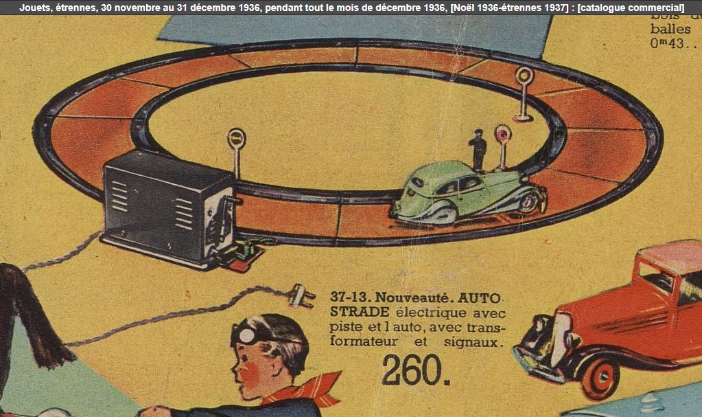 LR autoroute catalogue Au Louvre Noël 1936