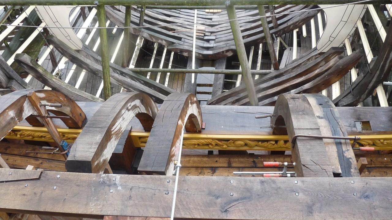 De Zeven Provincien : le chantier de la réplique du navire amiral de Michiel De Ruyter 17072807274023134915176471