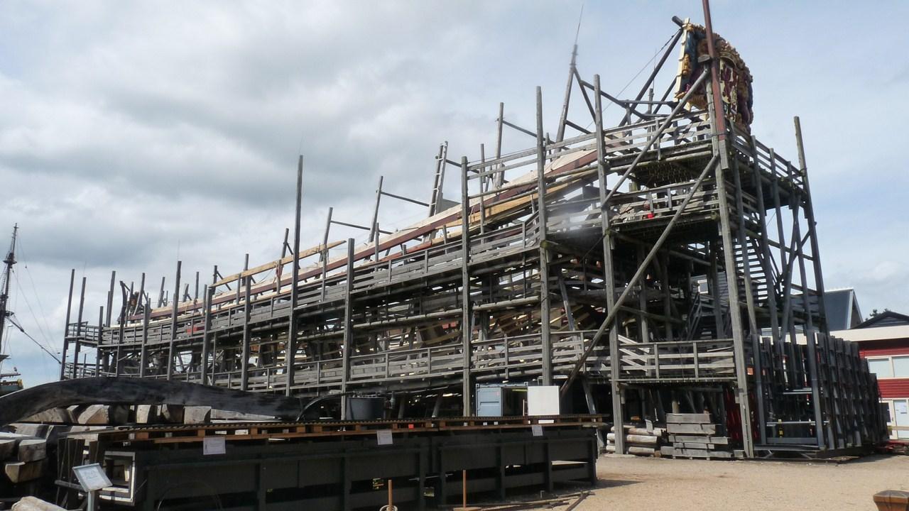 De Zeven Provincien : le chantier de la réplique du navire amiral de Michiel De Ruyter 17072807280823134915176477