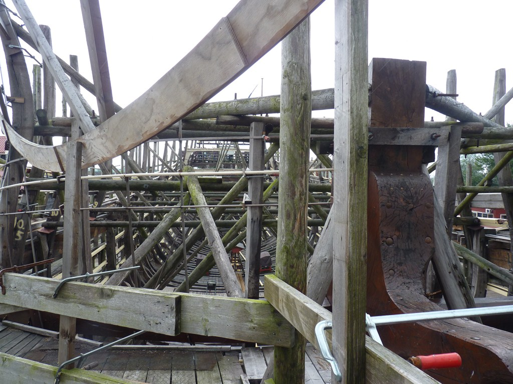 De Zeven Provincien : le chantier de la réplique du navire amiral de Michiel De Ruyter 17072807285823134915176490