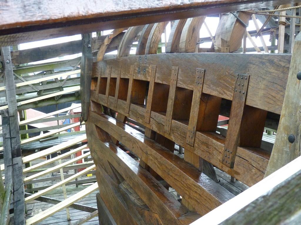 De Zeven Provincien : le chantier de la réplique du navire amiral de Michiel De Ruyter 17072807291823134915176493