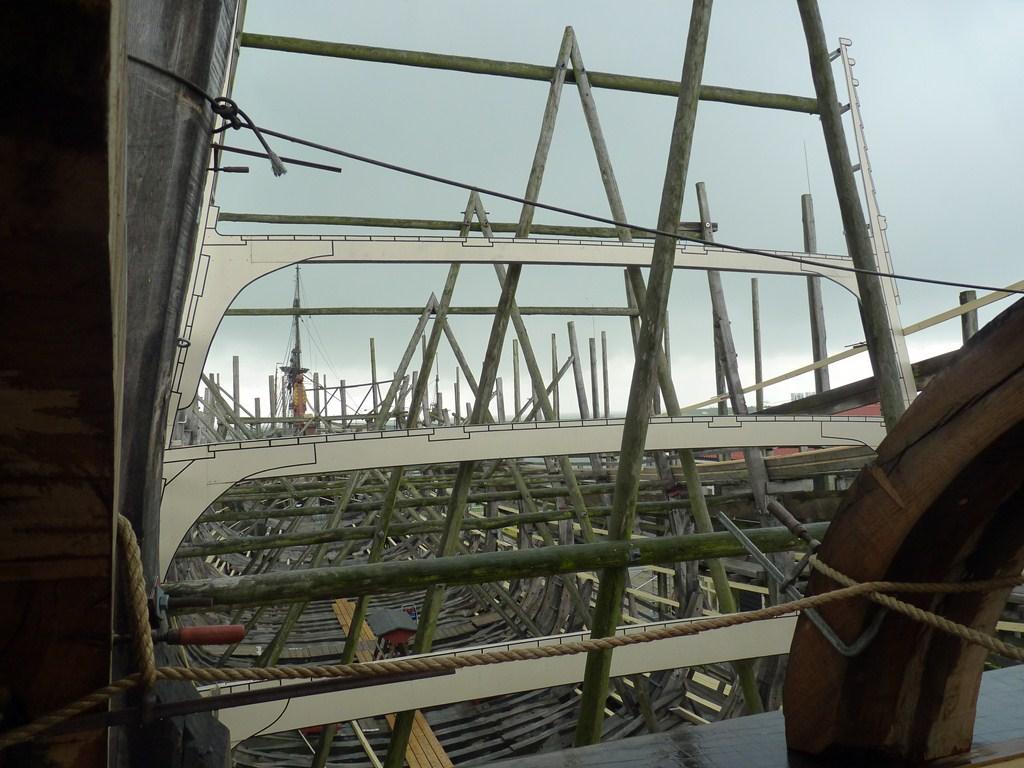 De Zeven Provincien : le chantier de la réplique du navire amiral de Michiel De Ruyter 17072807292723134915176495