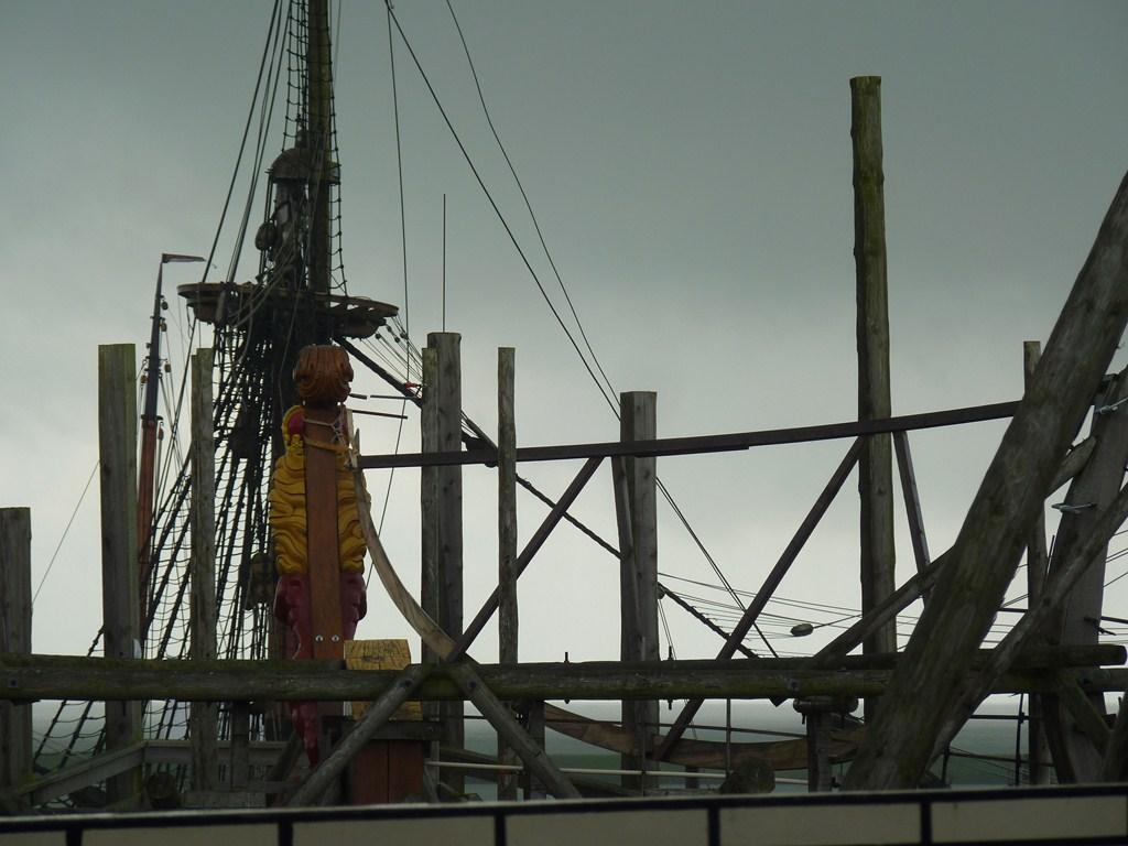 De Zeven Provincien : le chantier de la réplique du navire amiral de Michiel De Ruyter 17072807293323134915176497
