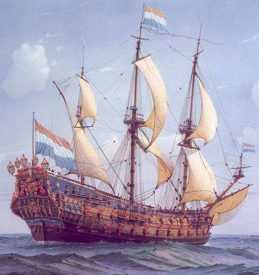 De Zeven Provincien : le chantier de la réplique du navire amiral de Michiel De Ruyter 17072807304423134915176512