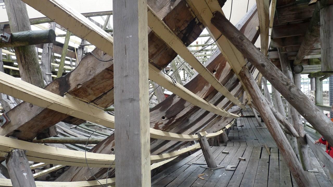 De Zeven Provincien : le chantier de la réplique du navire amiral de Michiel De Ruyter 17072807310723134915176517