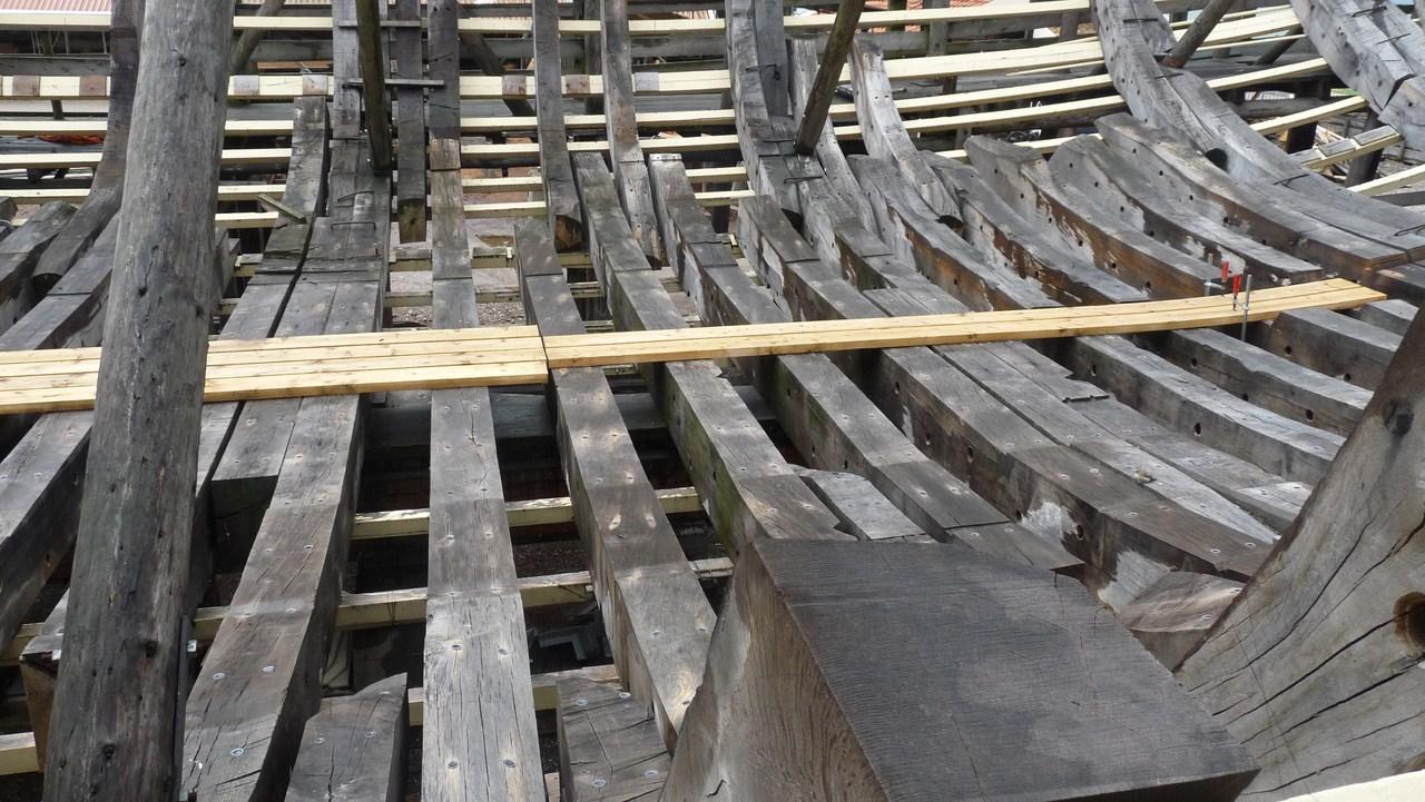 De Zeven Provincien : le chantier de la réplique du navire amiral de Michiel De Ruyter 17072807311623134915176519