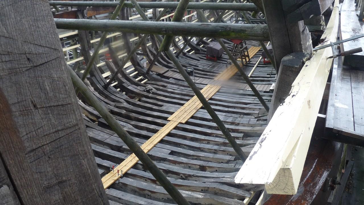 De Zeven Provincien : le chantier de la réplique du navire amiral de Michiel De Ruyter 17072807314323134915176530