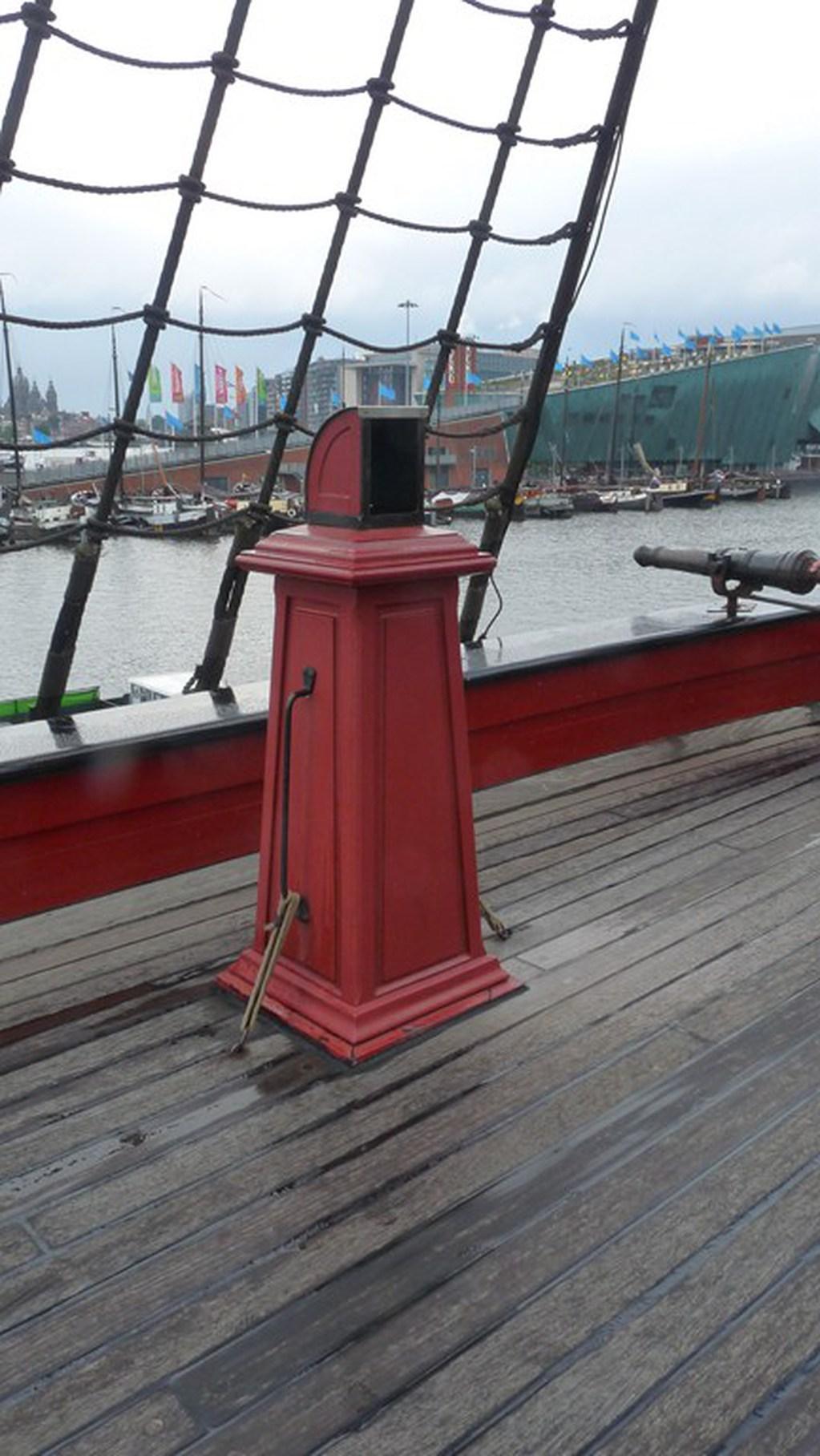 Visite du VOC « AMSTERDAM » (1749) à Amsterdam 17072807405823134915176628