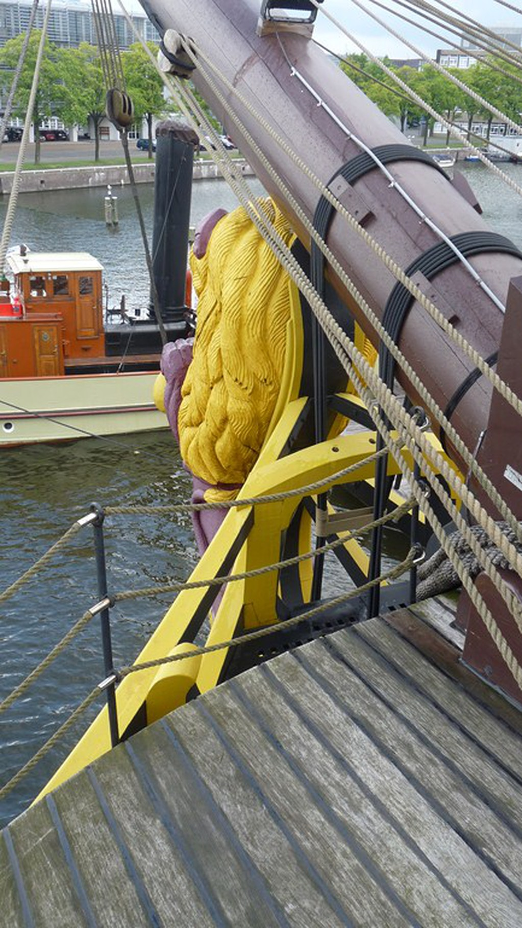 Visite du VOC « AMSTERDAM » (1749) à Amsterdam 17072807412023134915176633