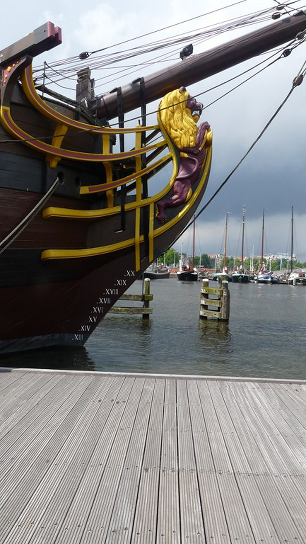Visite du VOC « AMSTERDAM » (1749) à Amsterdam 17072807435023134915176661