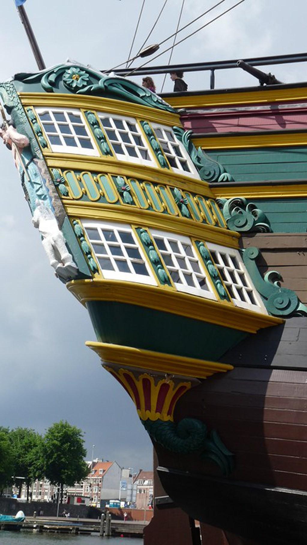 Visite du VOC « AMSTERDAM » (1749) à Amsterdam 17072807440523134915176663