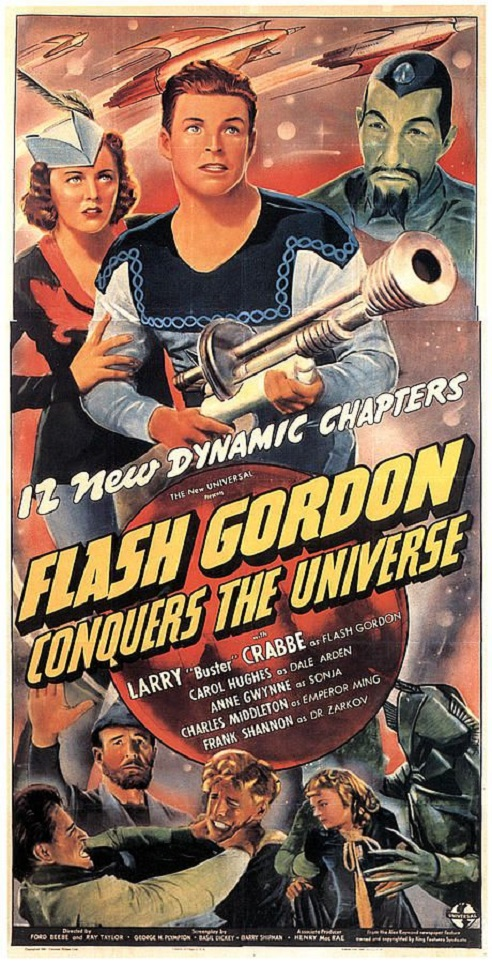 POSTEROÏDE - Flash Gordon Conquers the Universe dans Cineteek 17072812294115263615175601