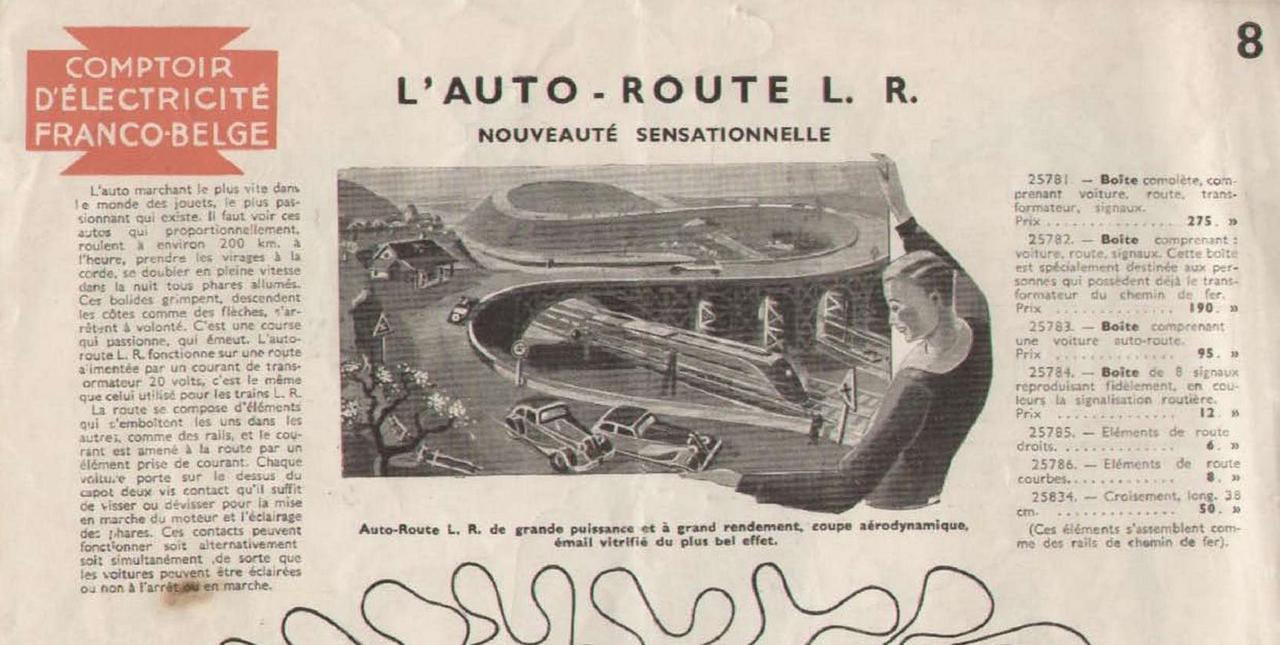 Circuit auto route l r louis roussy l 39 anc tre du slot - Comptoir lyonnais electricite catalogue ...