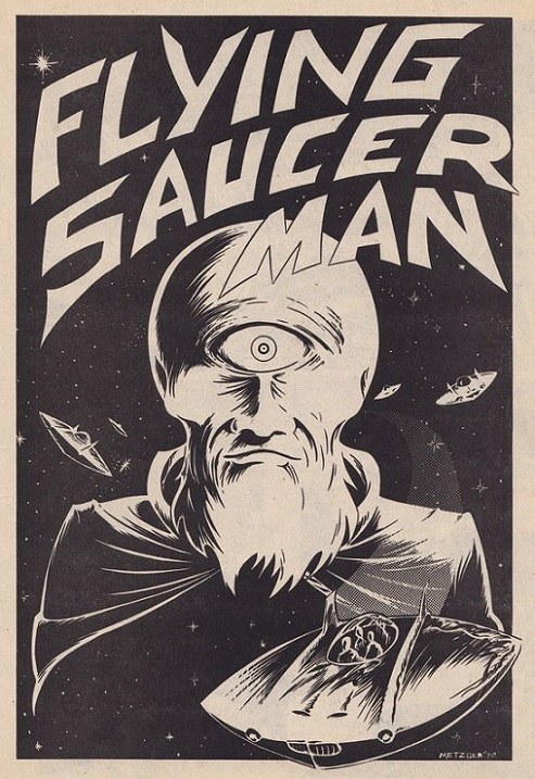 Flying saucer man dans Image 17072909014015263615177135