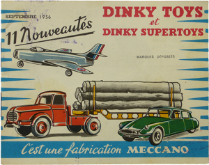 Catalogue Dinky-Toys France 1956