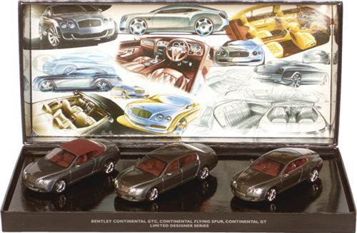 Bentley Designer series set Minichamps