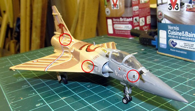 """Mirage 2000-5 """"Vieux Charles"""" au 1/72 17080512395118121215201247"""