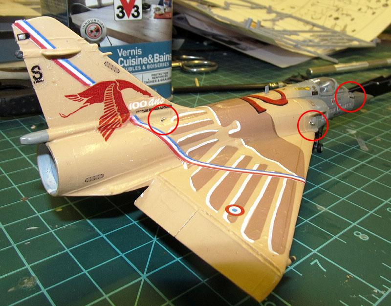 """Mirage 2000-5 """"Vieux Charles"""" au 1/72 17080512395418121215201249"""