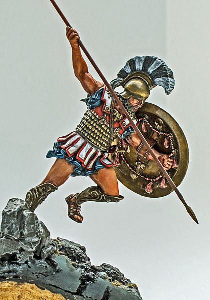 Bouclier hoplite WIP - Medieval Forge Miniature 75 mm 17080909522314703415209274
