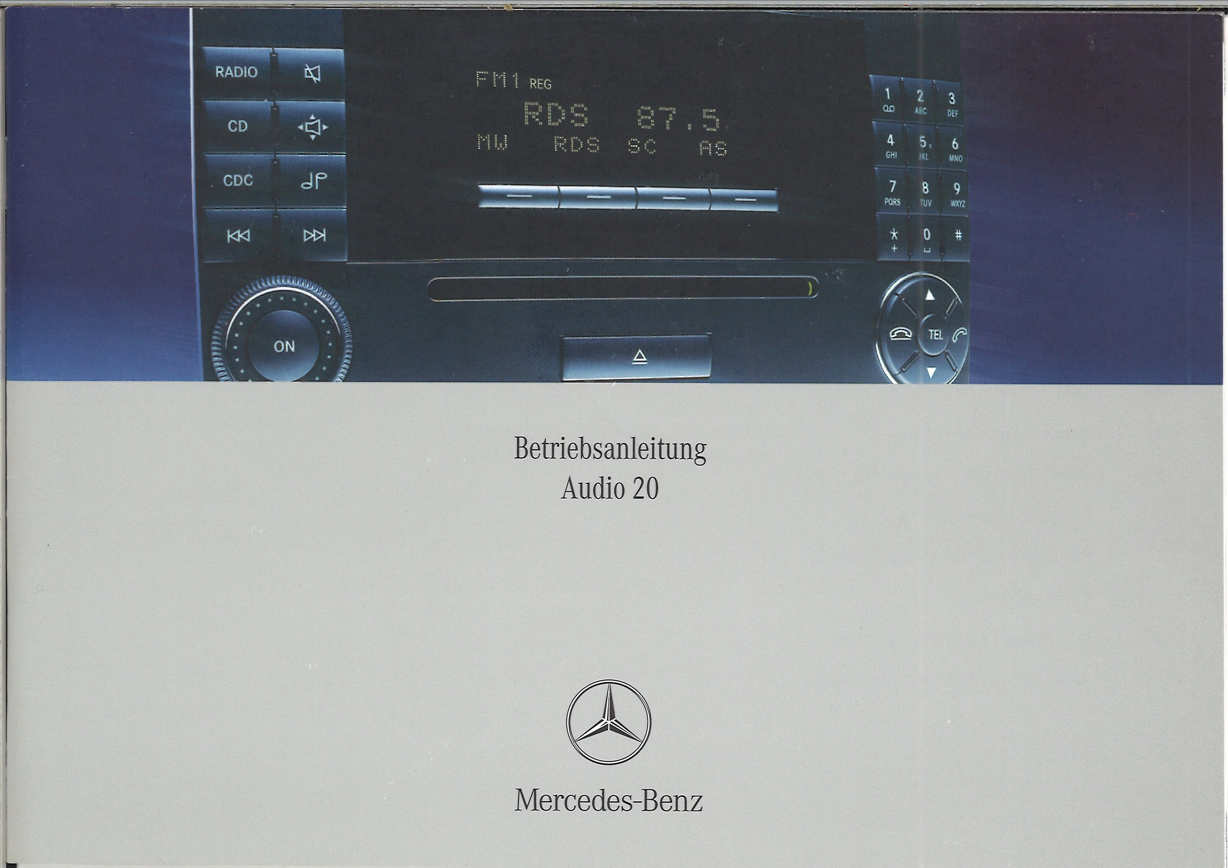 Notice Audio 20 allemand