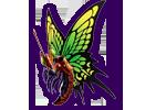 Spectre Terrestre du Papillon