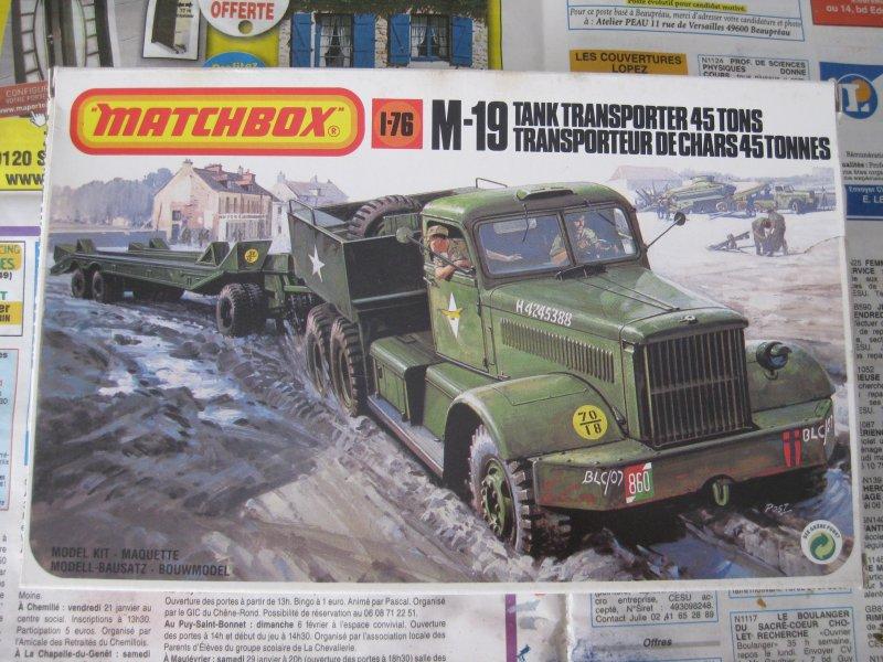 M-19 tank transporter 45t [Matchbox 1/76] 1708240224243532815237278