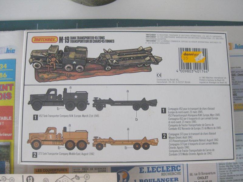 M-19 tank transporter 45t [Matchbox 1/76] 1708240224303532815237283