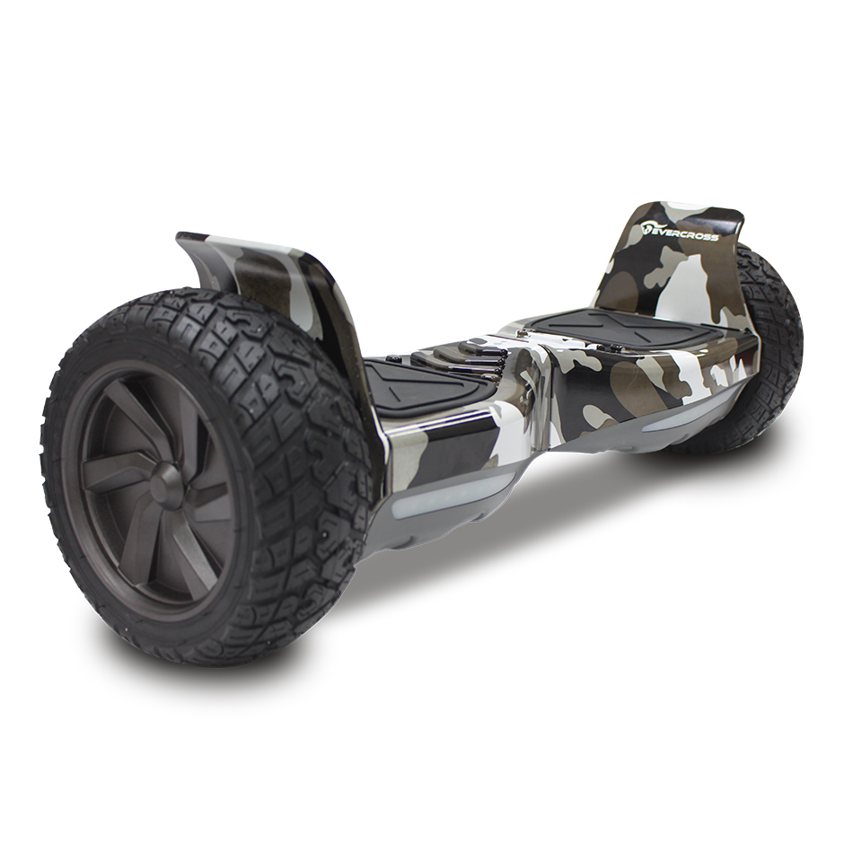 evercross challenger basic hoverboard gyropode hummer tout terrain 8 5 pouces camouflage. Black Bedroom Furniture Sets. Home Design Ideas