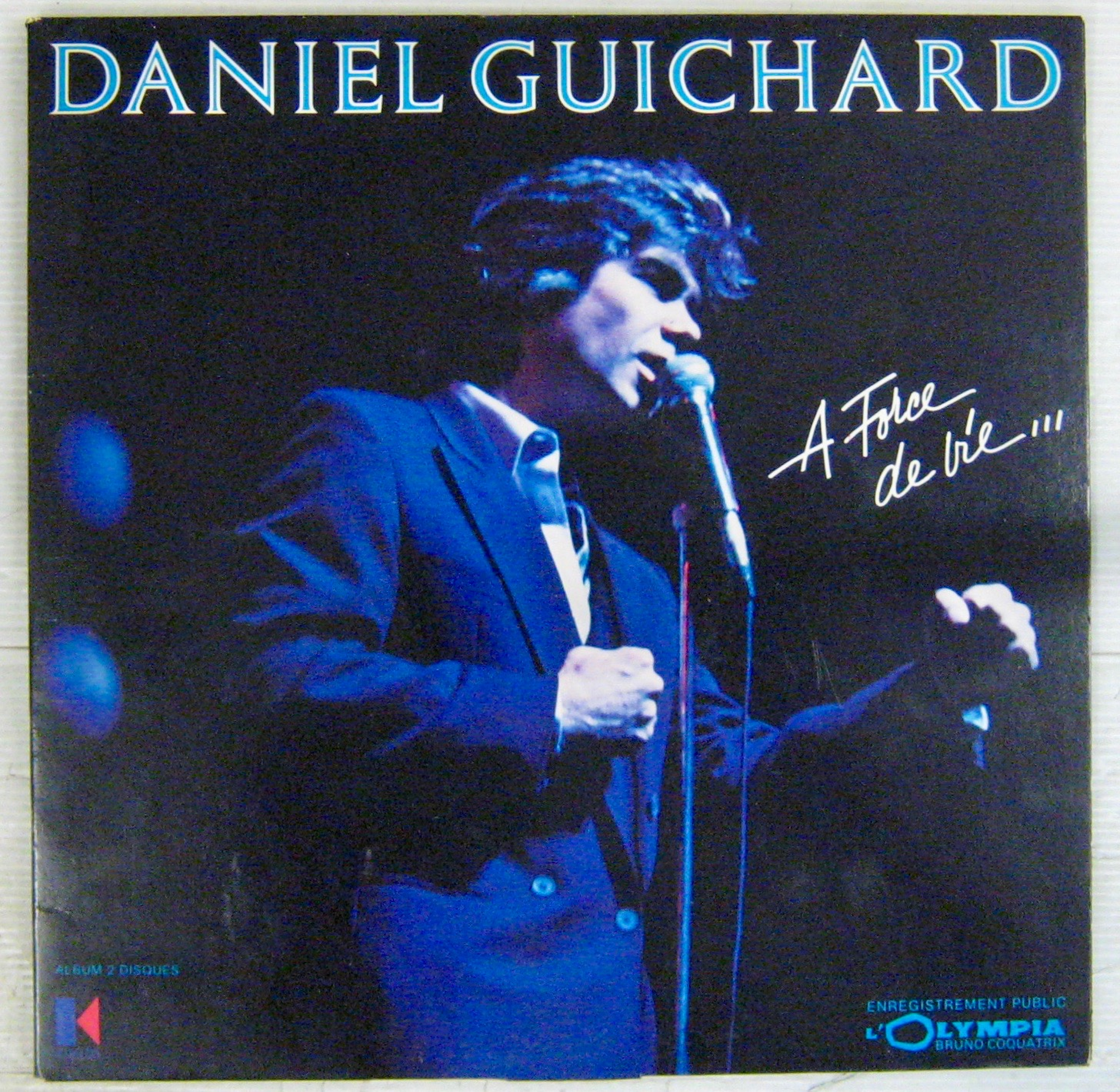 Guichard Daniel A force de vie...