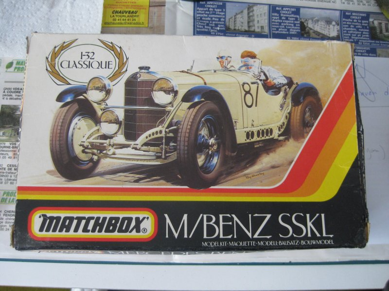 Mercedes Benz SSKL [Matchbox 1/32] 1709021013273532815252322
