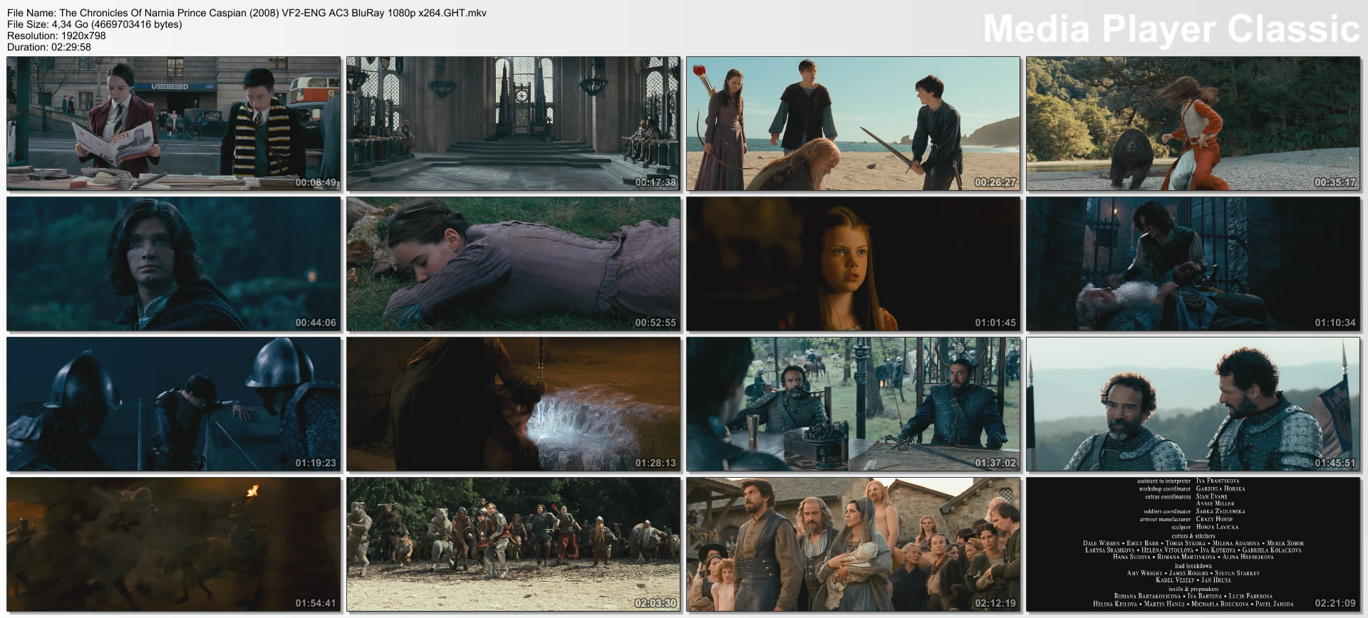 The Chronicles Of Narnia Prince Caspian (2008) VF2-ENG AC3 BluRay 1080p x264.GHT