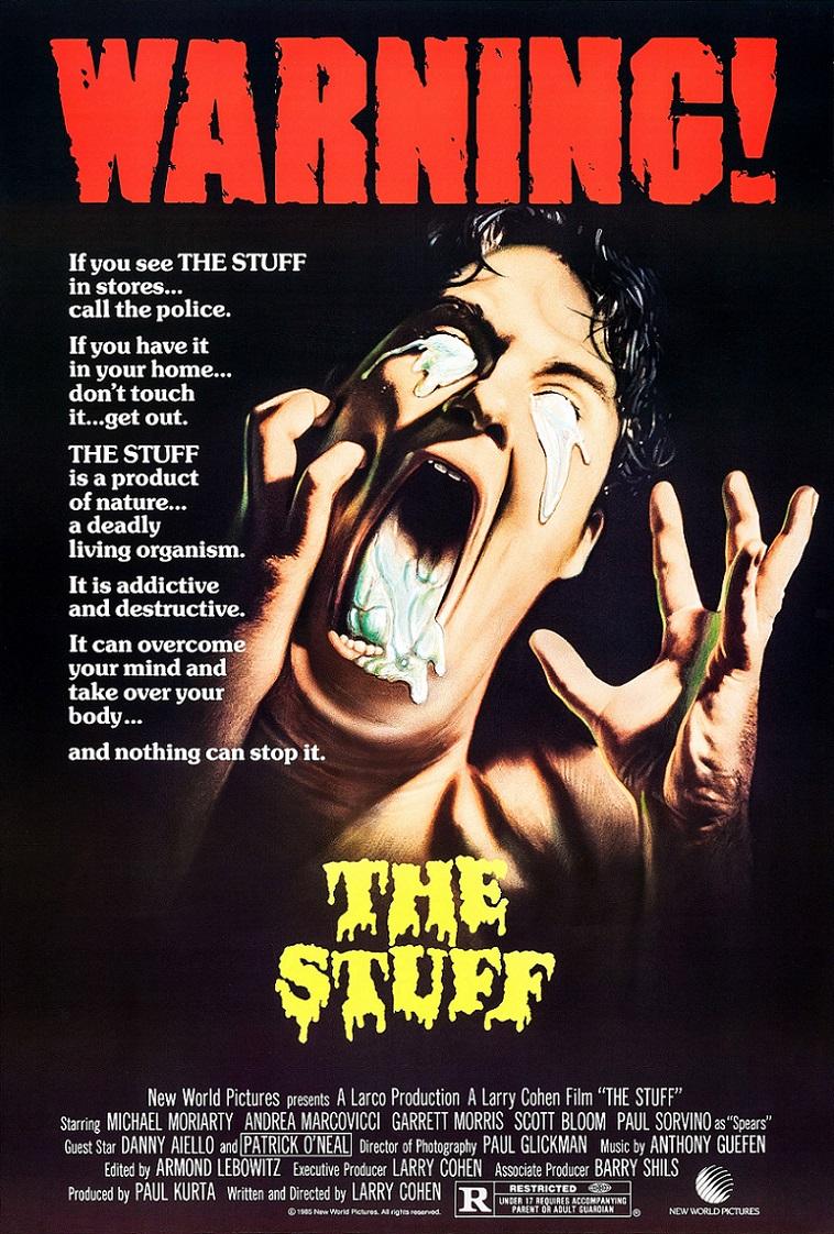 L'AFFICHE : THE STUFF (1985) dans CINÉMA 17090708304015263615258490