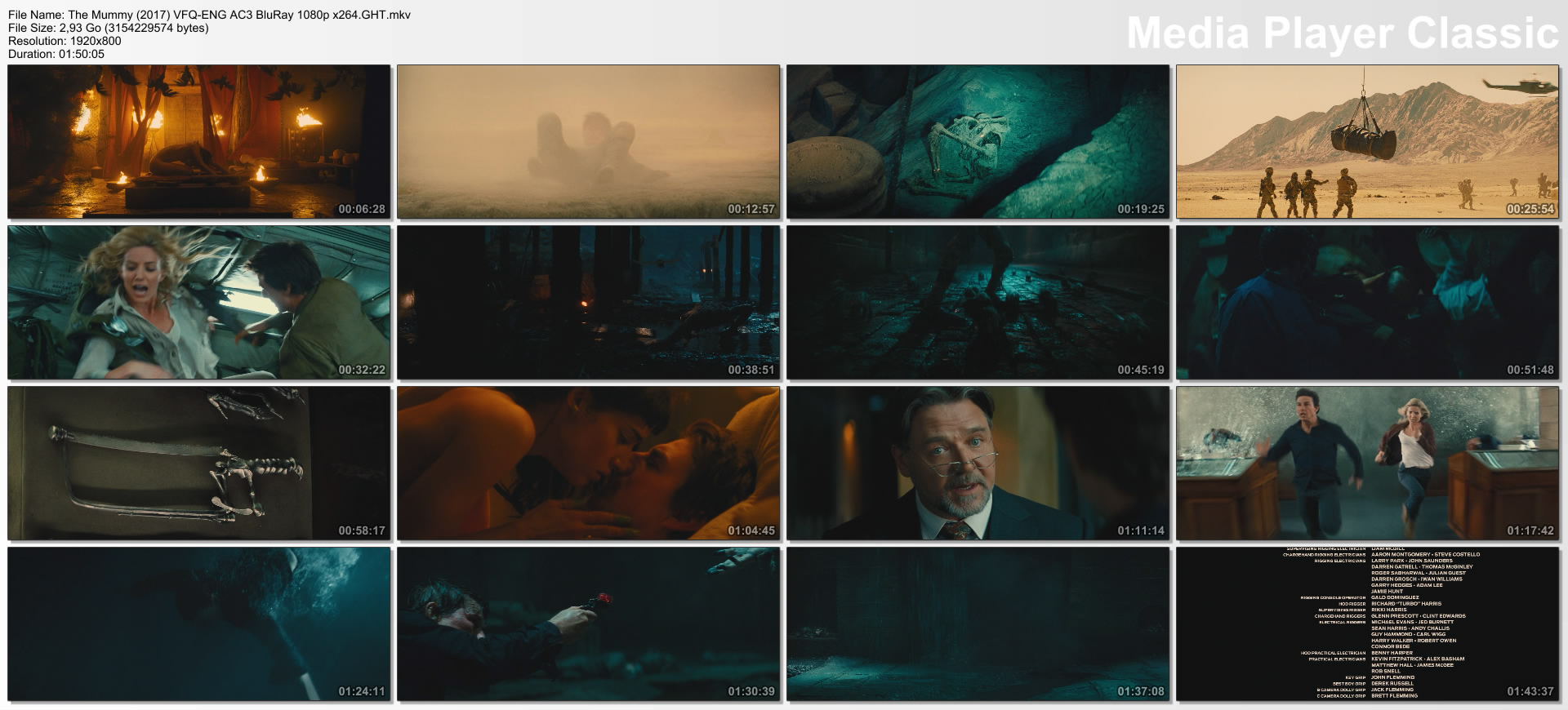 The Mummy (2017) VFQ-ENG AC3 BluRay 1080p x264.GHT