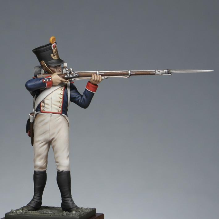 Hussard du 9ème Régiment en tenue de route après 1812 1709170835553593415273677
