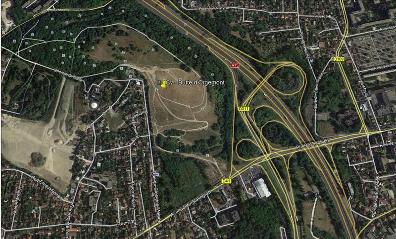 Spot de vol de la butte d'Orgemont dans le département du Val-d'Oise (95) 17091712170415083515273080