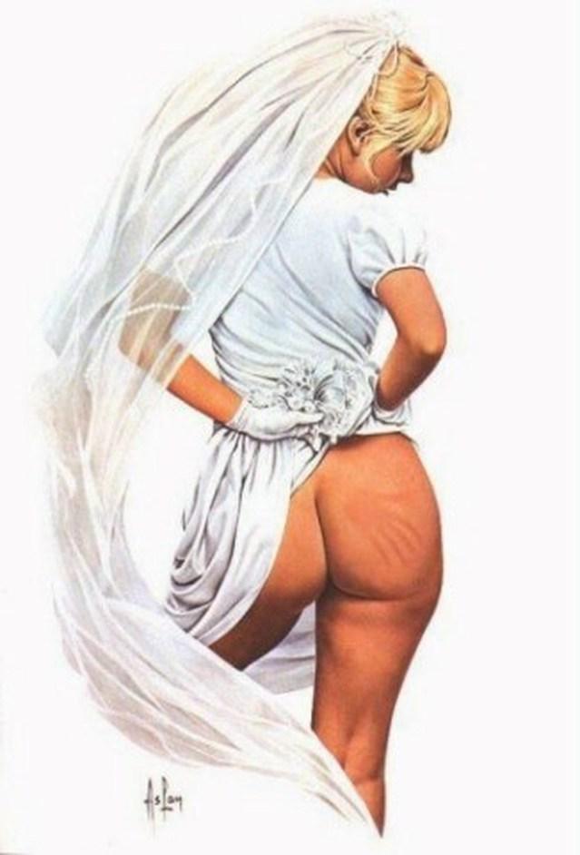 La mariée claquée !