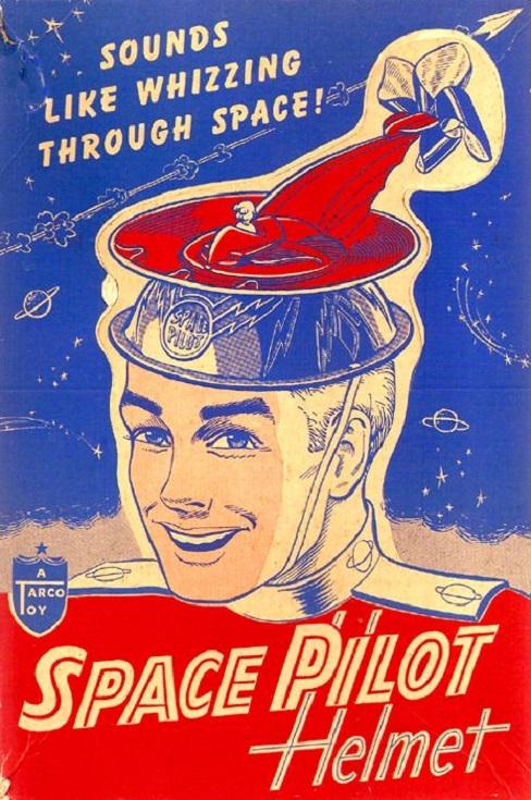 SPACETOY - Space pilot helmet dans Spacetoy 17100301192915263615299561