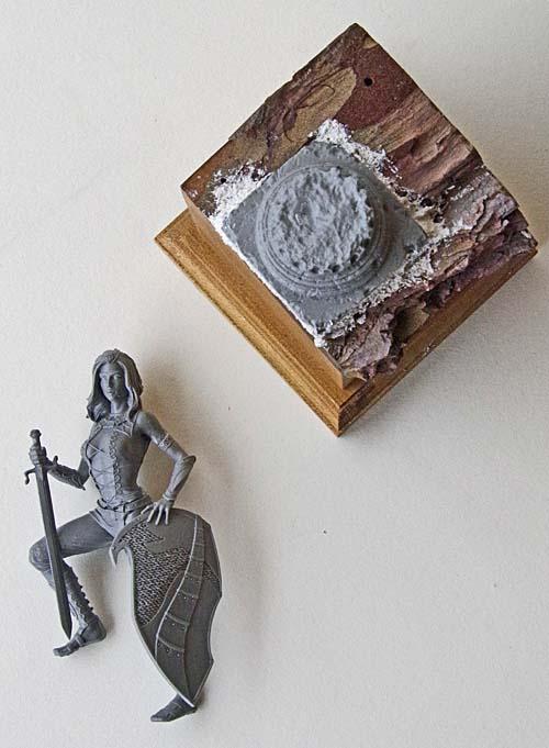Ivonne et Sélène : Ares Draconia 75 mm 17101201024914703415315193