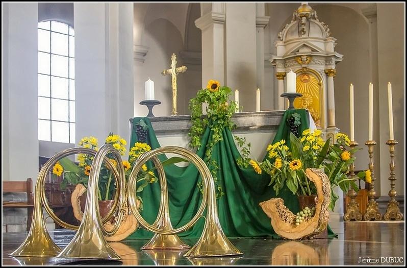 Trompe de chasse, Veneurs de Sainte Marie-Madeleine, Belgique